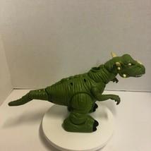 Mattel Dinosaur Imaginext Green and Yellow Talks and Walks - $24.99