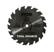 "NEW RYOBI P503 P504 P506 5 1/2"" CARBIDE TIPPED CIRCULAR SAW BLADE 10MM A... - $15.71"