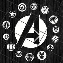 Avenger logo digital download, Avenger Avenger logo digital download, Av... - $1.29