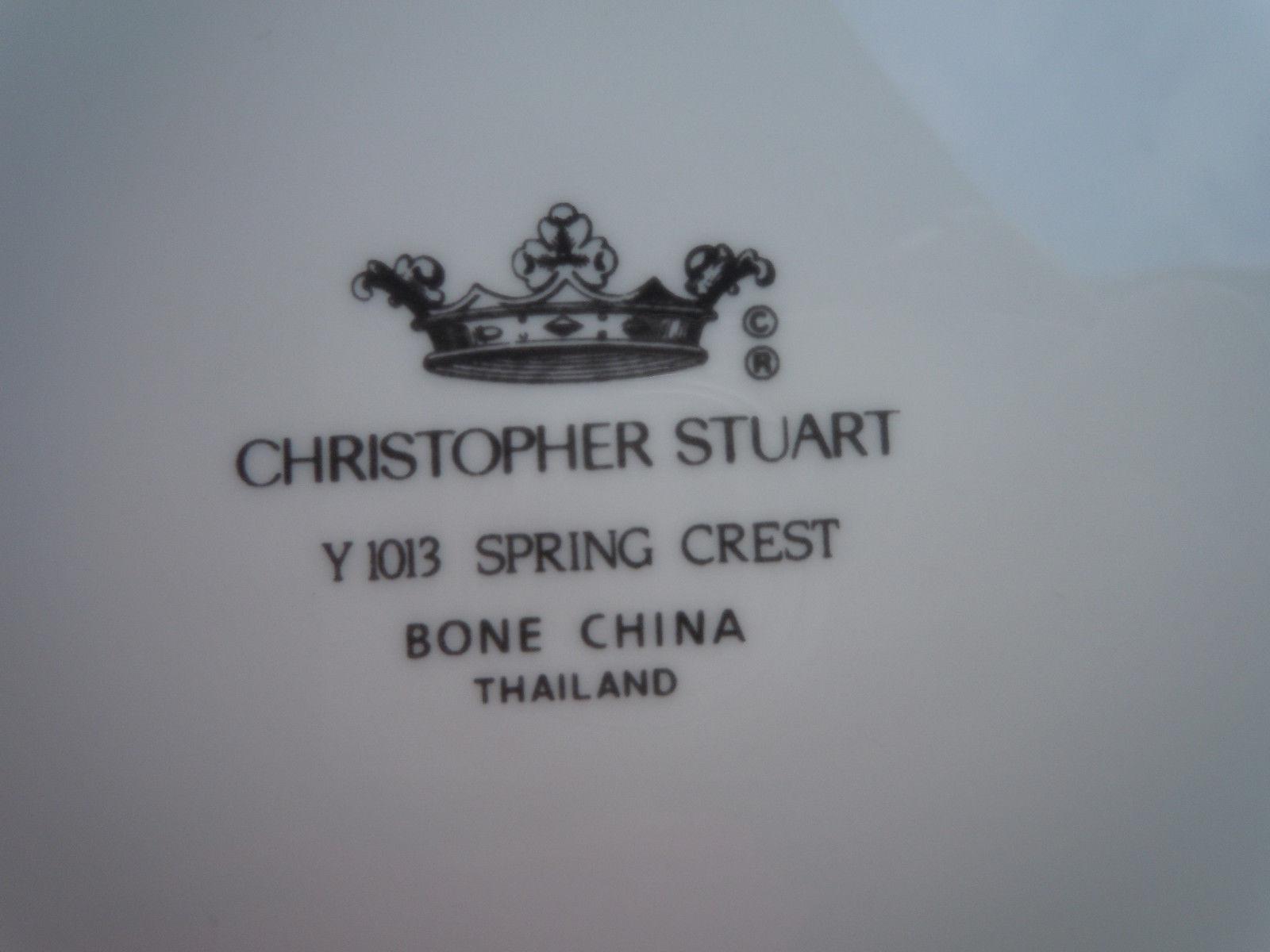 Christopher Stuart Spring Crest Salad Plate image 2