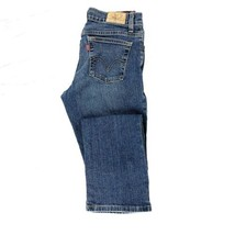 Levi 550 Women's Relaxed Boot Cut Jean Size 4 Low-rise Medium Blue Wash ... - $14.70