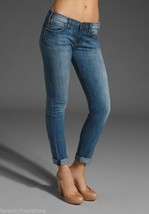 Current Elliott Jeans Rolled Skinny Crop in Blue Chip sz 27 28 - $49.90