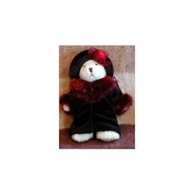 "Oksana Russ Teddy Bear Victorian Plush 7"" - $18.98"