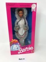 Eskimo 2nd Edition 1990 Barbie Doll Dolls of the World Collection #18-1659 - $20.47