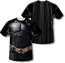 Batman Begins Costume FRONT/BACK Print Sublimation Polyester T Tee Shirt S-3XL - $29.79+