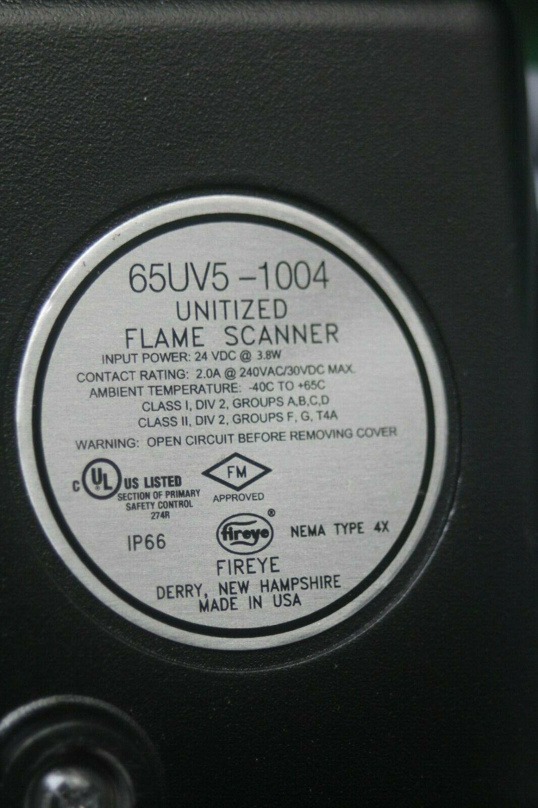 Fireye Unitized Flame Scanner 65UVS-10004 image 4