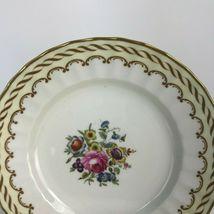 Set Of 8 Vintage Royal Worcester England Floral Center Kempsey Bread Plates U20 image 3
