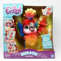 Hasbro FurReal Rock-A-Too The Show Bird Talking Interactive Parrot NEW - $56.09