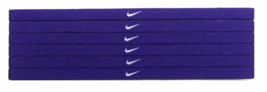 NEW Nike Unisex Running Headband Swoosh Sport BLUE WHITE Logo - $6.50