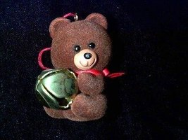 Jingling Teddy Little Trimmers Collection 1982 hallmark ornament - $4.94
