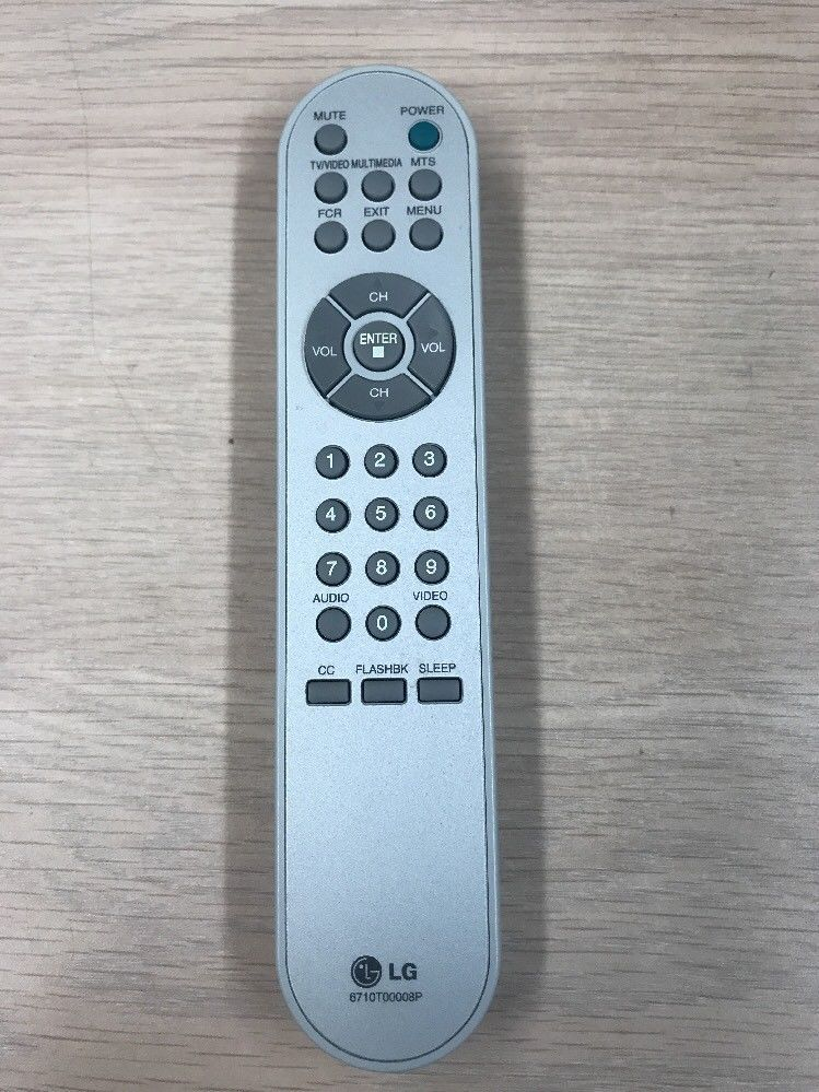 LG Remote Control Model 6710T00008P- Tested And Cleaned                     (I4)