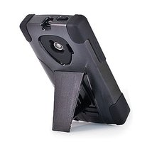 Amzer Double Layer Hybrid Case with Kickstand for Huawei Ascend Q M660 - Black - $5.89