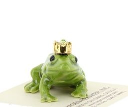 Birthstone Frog Prince August Simulated Peridot Miniatures by Hagen-Renaker image 7