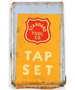 Vintage Standard Tool Co. Tap Set 6-32 N.C. H-3 Set of Two - $11.87