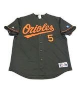 Majestic Baltimore Orioles MLB Colabucci #5 Baseball Jersey Men's Size X... - $59.35