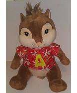 Build-A-Bear Alvin Chipmunk Plush Stuffed Toy Animal Collectible Hawaiia... - $22.76