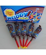 Chupa Chups MELODY POPS Cola - PACK OF 5  -Made in Germany-FREE SHIPPING - $8.90