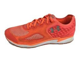 Under Armour women's sneakers micro 4D foam orange neon laces low top size 10 - $33.54