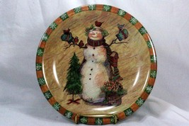 Certified International Country Snowman Dinner Plate - $7.61
