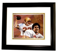 Doug Flutie signed Boston College 11X14 Photo Dual Sig Heisman Custom Fr... - $94.95