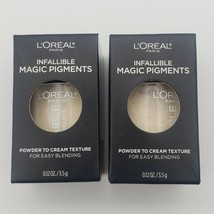 2x L'Oreal 440 Ivy League Infallible Magic Pigments Eyeshadow Powder to ... - $8.54