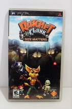 Ratchet & Clank: Size Matters (Sony PSP, 2007) Complete - $12.99