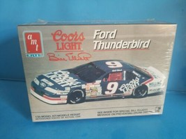 AMT 6740 COORS LIGHT Bill Elliott Ford Thunderbird Model Kit 1/25 SEALED... - $18.69