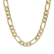 "Mens 14K Yellow Gold Figaro Link Chain 22"" Inches 77.4 Grams - $4,988.61"