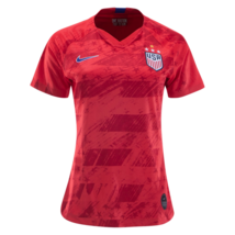 Nike Alyssa Naeher #1 Usa 2019 World Cup 4 Star Women's Red Womens Jersey Patch - $89.99+