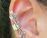 Ear Cuff Bow Arrow Clip Wrap No Pierce Archery Indian crawler orbital lobe silve