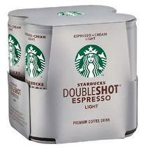 Starbucks Doubleshot Espresso & cream Light 48 Cans Iced Coffee Drinks 6.5 oz - $113.99