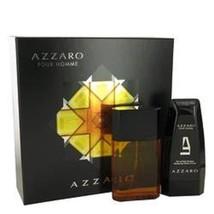 Azzaro Gift Set 3.4 oz Eau De Toilette Spray + 5 oz Hair & Body Shampoo - $56.53