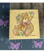 Stampendous Rubber Stamp Cherished Teddies Bear Dorothy's True Love #A84 - $5.20