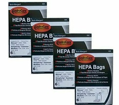 24 Riccar Simplicty HEPA Canister Replacement Vacuum Bags RHH-6 C19-6 SH... - $44.85