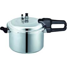 Brentwood Aluminum 7.0L Pressure Cooker in Silver - $61.73