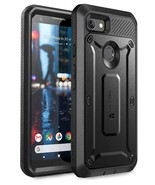 Pixel 3a XL Unicorn Beetle Pro Rugged Holster Case (Black) - $13.99