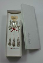 "Sir Christopher by Wallace Sterling Silver ""I Love You"" Serving Set 3pc Custom - $175.50"