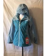 Girl's The North Face DryVent 2 In 1 Jacket, Large, Blue - $89.99