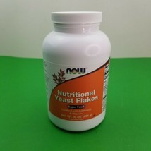 Now Foods Nutritional Yeast Flakes 10 oz 284 g GMP Quality Assured, Kosher Super - $8.59