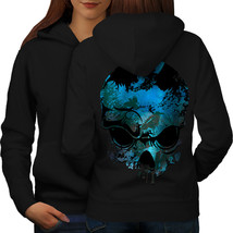 Nature Metal Rock Skull Sweatshirt Hoody Concert Art Women Hoodie Back - $21.99+