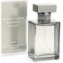 Ralph Lauren Romance Silver Cologne 1.7 Oz Eau De Toilette Spray image 3