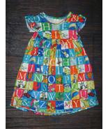 NEW Boutique Dr Seuss Alphabet ABC Girls Sleeveless Dress 2T 3T 4T 5-6 6... - $16.99