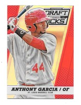 2013 Anthony Garcia Panini Prizm Draft Picks Rookie Red Refractor /100 - $1.19