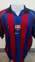 FC Barcelona Nike 2000 2001 Jersey Soccer Football Maillot Maglia Trikot - $22.93
