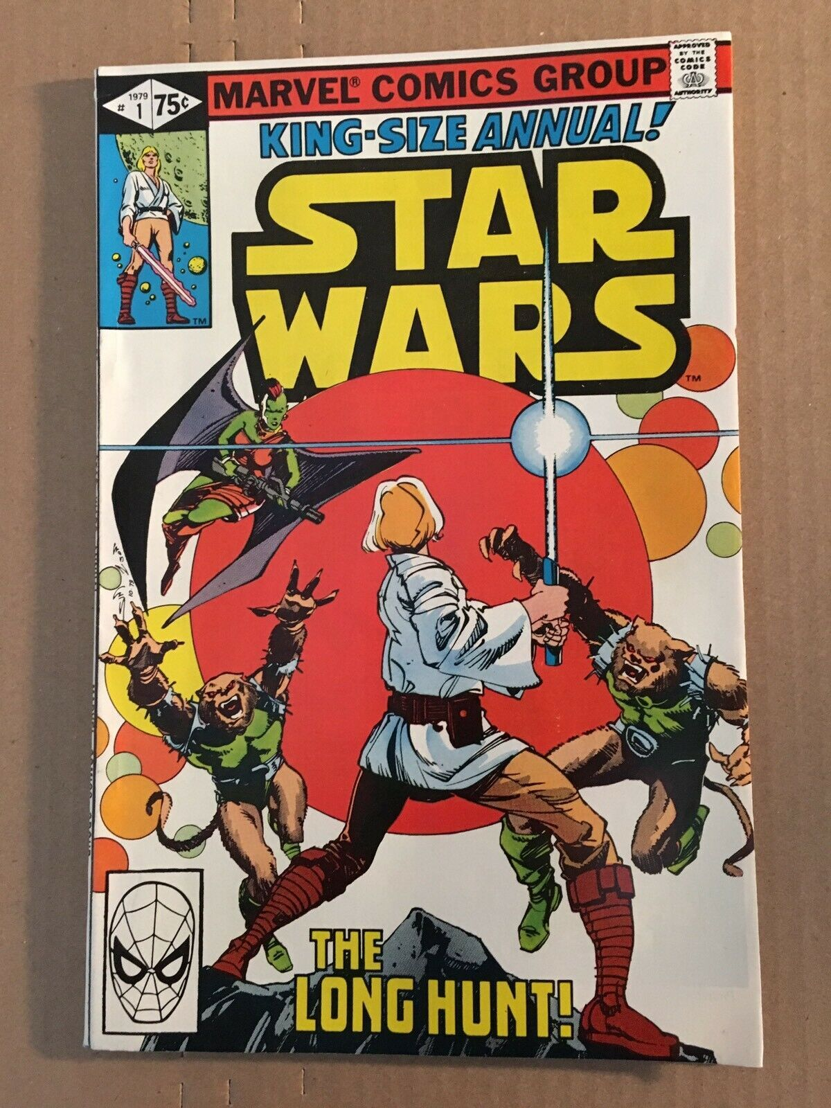 Star Wars #1 1979 Marvel Comic Book VF Condition King Size Annual