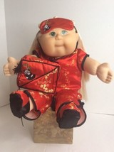 Cabbage Patch Kids Toys R Us 2001 K 5 1st Edit Blonde Top Knot 20in Asian Dress - $139.89