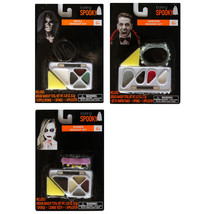 LOOKING SPOOKY*(1) Set HALLOWEEN Costume Supplies MAKEUP KIT Grease *YOU... - $5.99