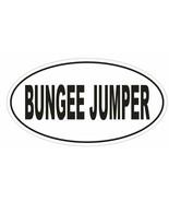 BUNGEE JUMPER Oval Bumper Sticker or Helmet Sticker D1868 Euro Oval - $1.39 - $75.00