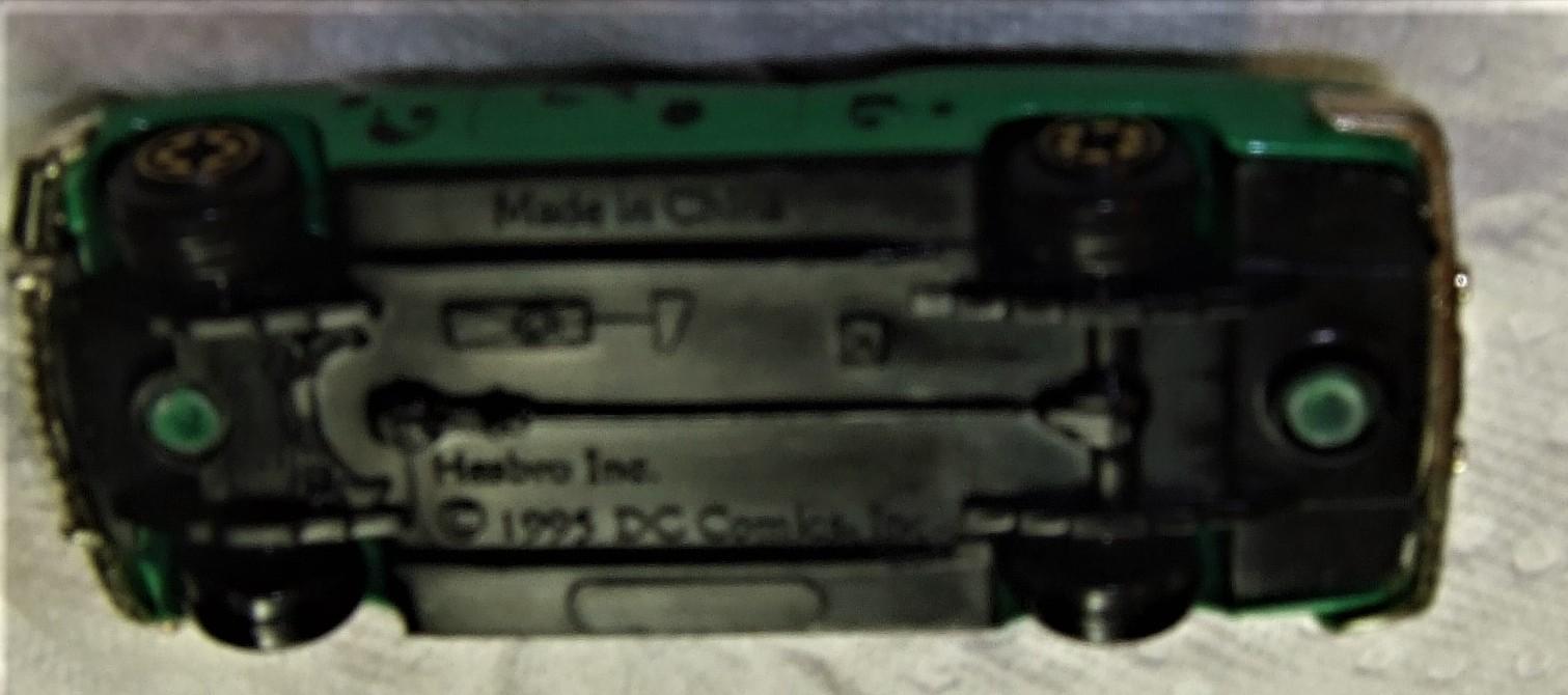 "Riddler Mobile 3"" DieCast 1995 Hasbro Inc. toy DC comics inc. image 8"