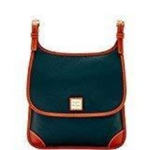Dooney & Bourke Pebble Grain Saddle Crossbody Black - $199.00